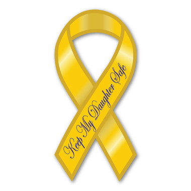 Show your support for our men and women in the armed forces with this ribbon magnet.