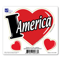 I Love America 3-in-1 Magnet