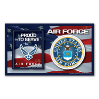 Air Force Photo Frame  Indoor Magnet