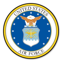 Air Force Seal Car Door Sign  Magnet