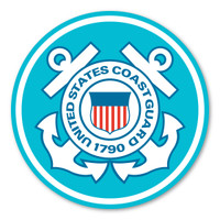 "The United States Coast Guard was founded in 1790 and serves as both a branch of the military as well as law enforcement. During times of peace, the Coast Guard operates lighthouses and works with the Department of Homeland Security to protect our borders. During times of war, the Coast Guard works with the Navy and its resources are used in military operations. This 11.5"" Car Door Sign can be used for special events or for former and current members of the Coast Guard to show pride in their branch."