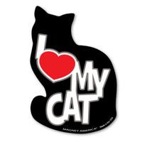 I Love My Cat Magnet