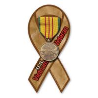 Vietnam Veteran Service Ribbon Magnet