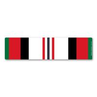 Afghanistan War Service Ribbon Bar Magnet