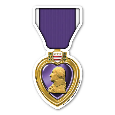 The concept of the Purple Heart was established by George Washington in 1782.  It was called the Badge of Military Merit and was a purple cloth made in the shape of a heart. It is the oldest military award given to US military members. To receive the Purple Heart, one must be wounded or killed while serving and protecting the US from an enemy. It can only be awarded in the name of the President.  Our Purple Heart is way to show pride for your service to our country or for loved ones who have lost a family member that has been awarded the Purple Heart for serving.