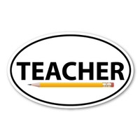 Teachers have been changing the world one child at a time by providing education for students, regardless of age. You, as a teacher, can show your love for your students with our Teacher oval magnet. Also, this can be given as a gift for your favorite teacher in appreciation for their love and support!