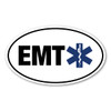 EMTs became a part of the medical field in the 1970s. What a blessing it is to have these medical personnel to help our family and friends in a case of emergency before we are able to make it to the hospital! Many lives are saved! Our EMT (Emergency Medical Technician) oval magnet is a great way to show you are thankful for an EMT in your life!