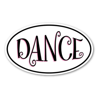 Dancing is a type of art, which involves purposeful movements in a sequence.  Whether it's ballet, jazz, hip-hop or tap, our magnet will show your enjoyment of dancing!