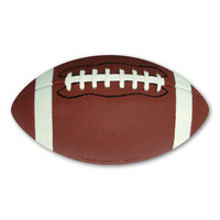 Football is the most popular sport in the United States.  It has many different levels--professional, college, high school, and youth.  Regardless of what level you play in or cheer for, our 3D football magnet will show your enthusiasm and support of the game!