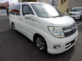 2009 Nissan Elgrand V6 2.5L Highway Star Premium Black Half Leather (#0178)