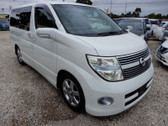 2007 Nissan Elgrand V6 2.5L Highway Star Premium Black Full Leather (#0772)