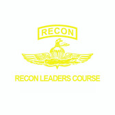 Recon Leaders Course STUDENT Black Hoodie