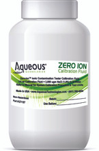 Zero Ion System Calibration Solution 4 oz. (Includes NIST Certificate of Calibration)