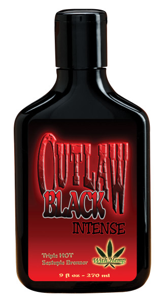 Outlaw® Black Triple Hot Sextuple Bronzer Lotion