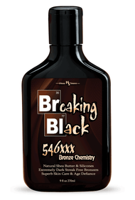 Breaking Black 546XXX Bronzer Tanning Lotion 9oz
