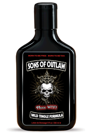 Sons Of Outlaw 99xxx WTF Tingle Tanning Lotion 9oz