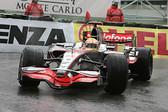 1:43 Kit.  Silverline Mclaren Mercedes MP4/23 Winner Lewis Hamilton Monaco 2008
