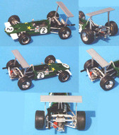 1/43rd  scale kit Lotus 59 F2 Jochen Rindt