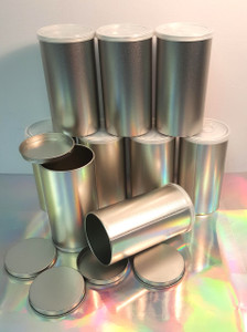 SELF SEALING PULL-TAB GIFT CANS