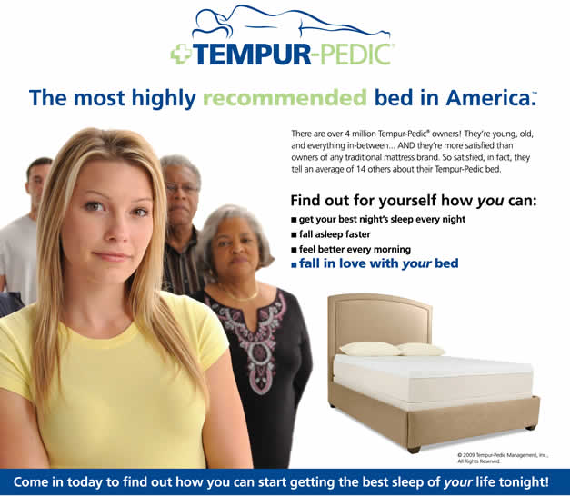 Tempur-Pedic Mattress Sale