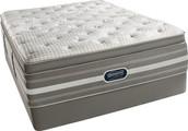 BeautyRest World Class Plum Beach Luxury Firm Pillow Top