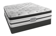 The all new exclusive Beautyrest Platinum Gabriella plush pillow top mattress is highly rated.