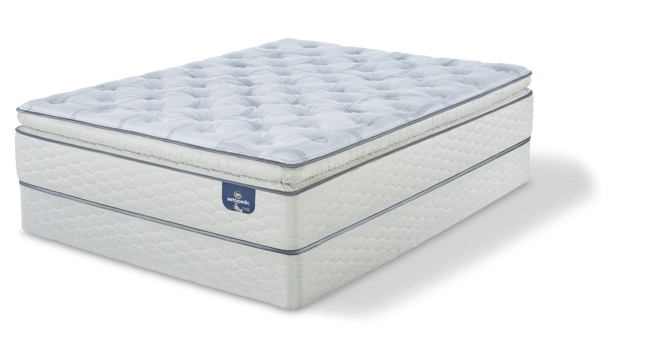 Serta 174 Mattress Sale Sertapedic 174 Carterson Super Pillow