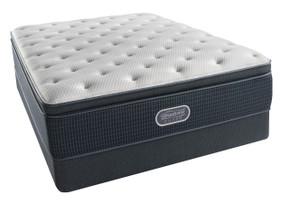 Simmons BeautyRest Silver Offshore Mist Plush Pillow Top Mattress