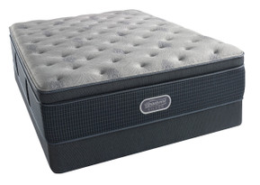 Simmons BeautyRest Silver Charcoal Coast Luxury Firm Pillow Top Mattress Sale