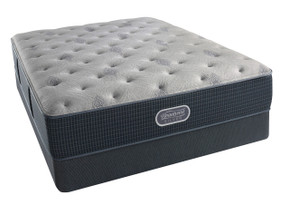 Simmons BeautyRest Silver Charcoal Coast Luxury Firm Mattress Sale.
