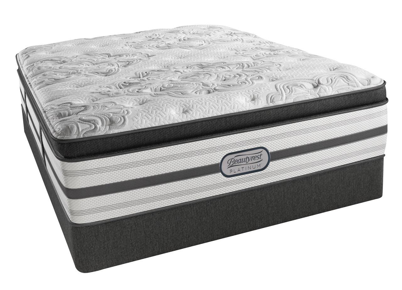 Simmons Beautyrest Mattress >> Simmons Beautyrest Platinum Katherine Plush Pillow Top Mattress