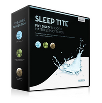 Malouf - Sleep Tite - Five Sided Smooth Mattress Protector