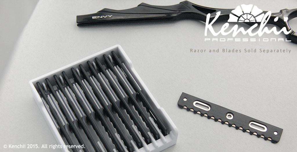 black razor blade