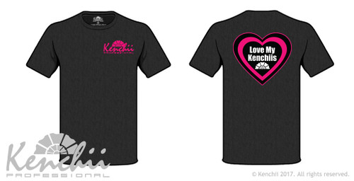 """Kenchii """"Love My Kenchii"""" tee shirt."""
