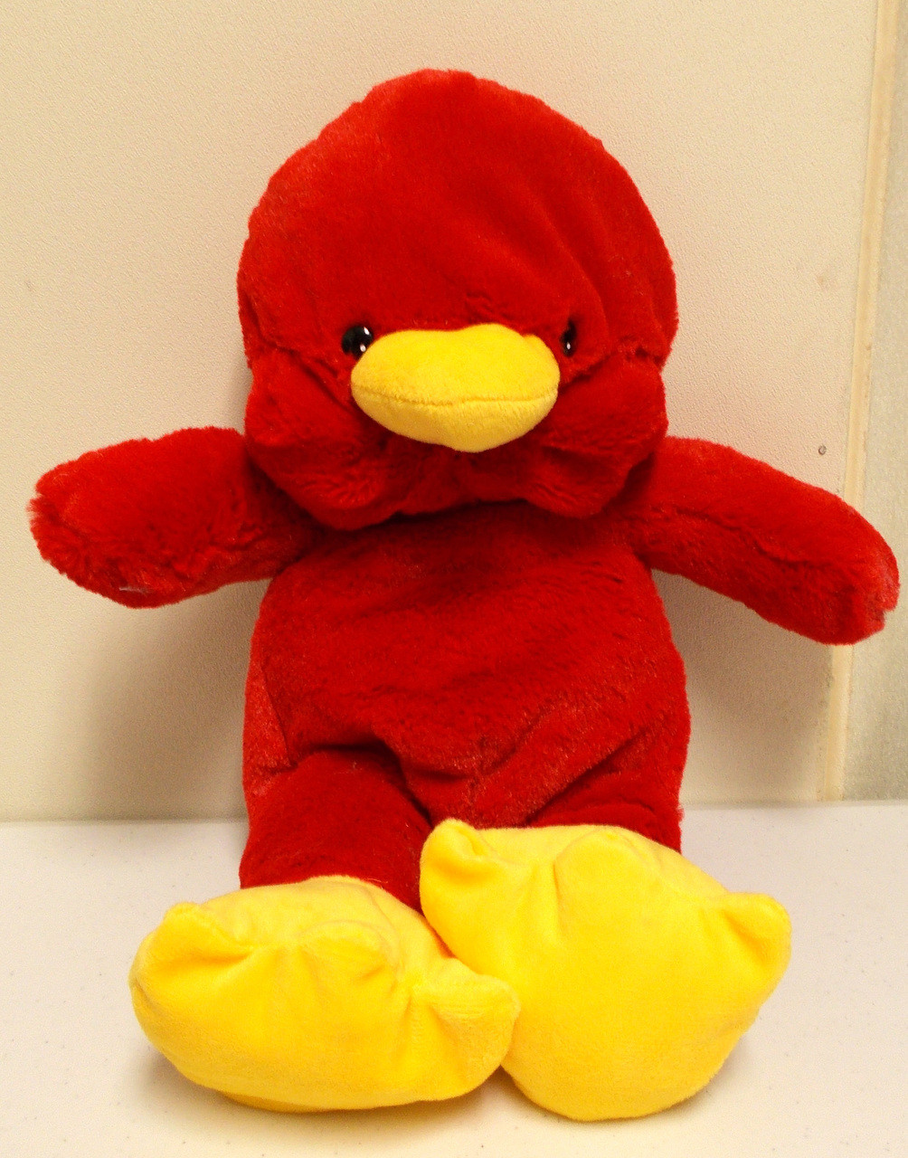 Wholesale Unstuffed Red Bird Cardinal Hawk Bday Bears