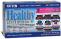 Natren Healthy Start System Tripack (Dairy) Probiotic Powders - 3 jars, 1.25 oz each