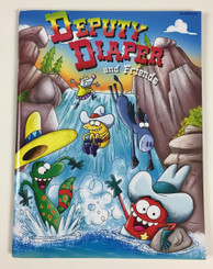Deputy Diaper Coloring Book - Waterfall