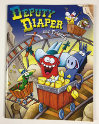 Deputy Diaper Coloring Book - Mine Shaft