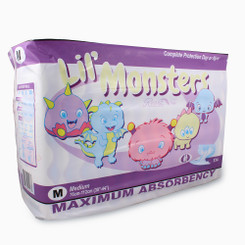 Rearz Lil' Monsters Adult Baby Diapers