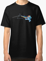 Pony on the Dark Side of the Moon Brony T-Shirt