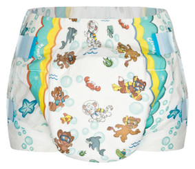 Crinklz Aquanaut Adult Baby Diapers