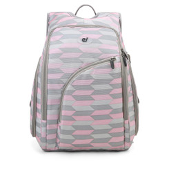 Discreet Backpack Diaper Bag - Pink