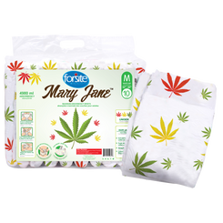 Forsite Mary Jane Printed Diapers