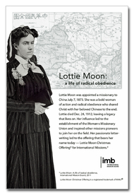 Downloadable Lottie Moon Photo and Information Flier