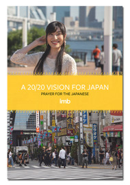 A 20/20 Vision for Japan - Prayer for the Japanese front cover