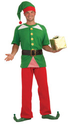 Jolly Elf Adult Costume