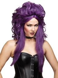Wig Sorceress Blk Purple