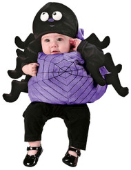 Infant Spider Vest W Hat