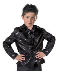 Disco Jacket Child Black Large