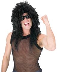 Headbanger Wig Black